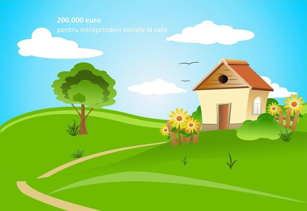 Fonduri europene de 40.000-200.000 Euro pentru întreprinderi sociale la sate. Ghidul solicitantului