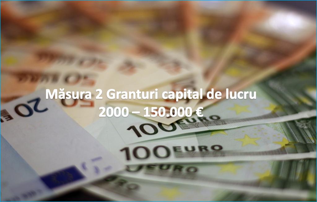 Pe 22 octombrie se deschide aplicația de înscriere pentru Măsura 2 capital de lucru